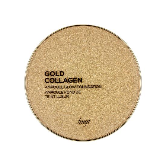 Компактное тональное средство с концентрированной сывороткой с золотом и коллагеном