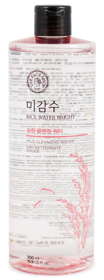 Очищающая рисовая вода