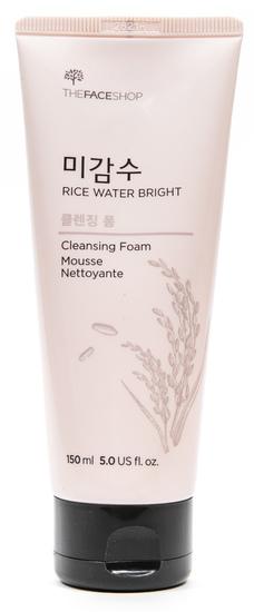 Пена для ежедневного умывания с экстрактом риса и рисовой водой