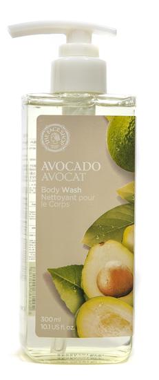 Гель для душа увлажняющий с экстрактом авокадо